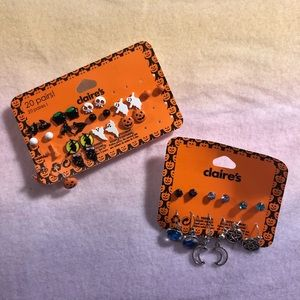 Claire's Halloween Earrings